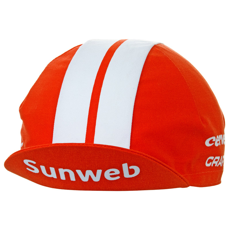 Team Sunweb 2019 Cotton Cycling Cap
