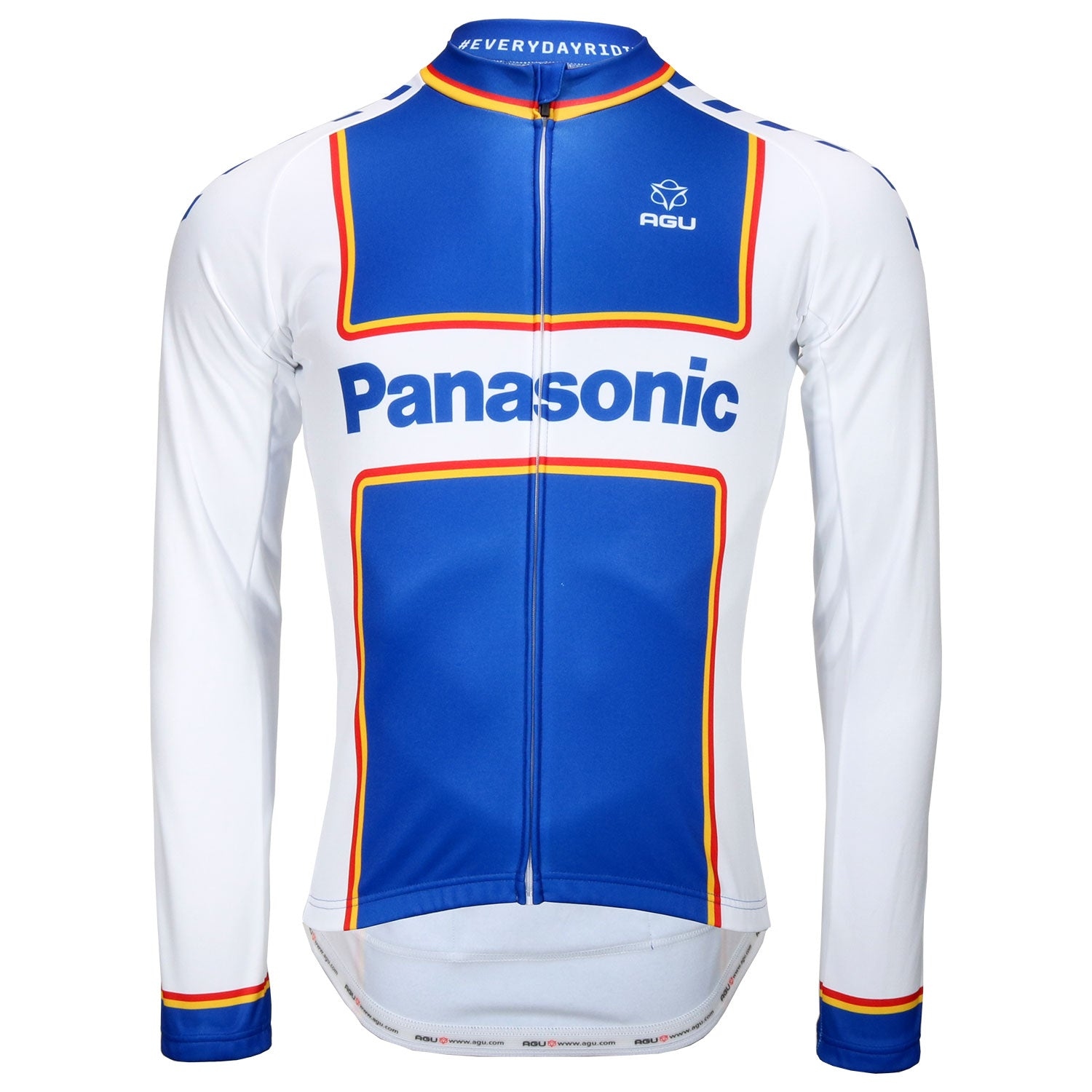Panasonic retro long sleeve jersey by AGU