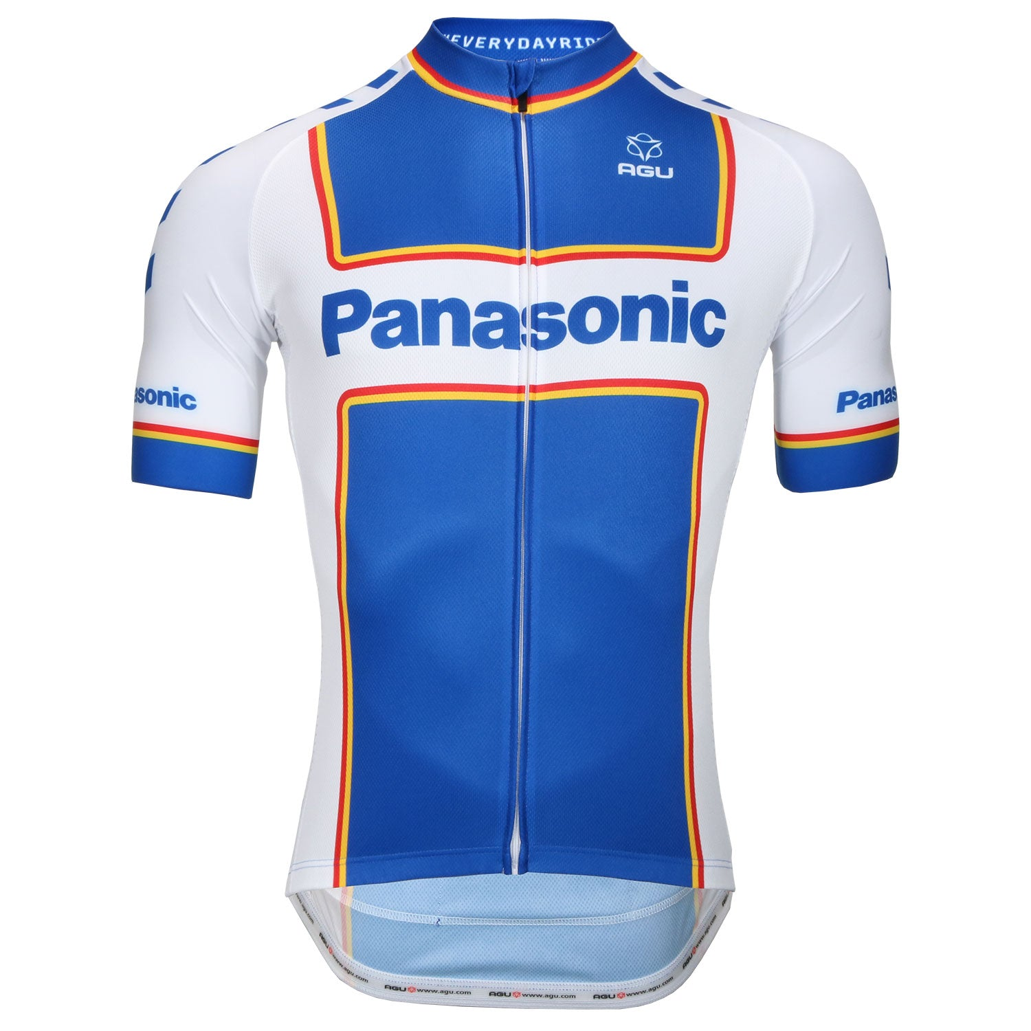 Panasonic retro short sleeve jersey by AGU