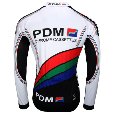 PDM retro long sleeve jersey from the back