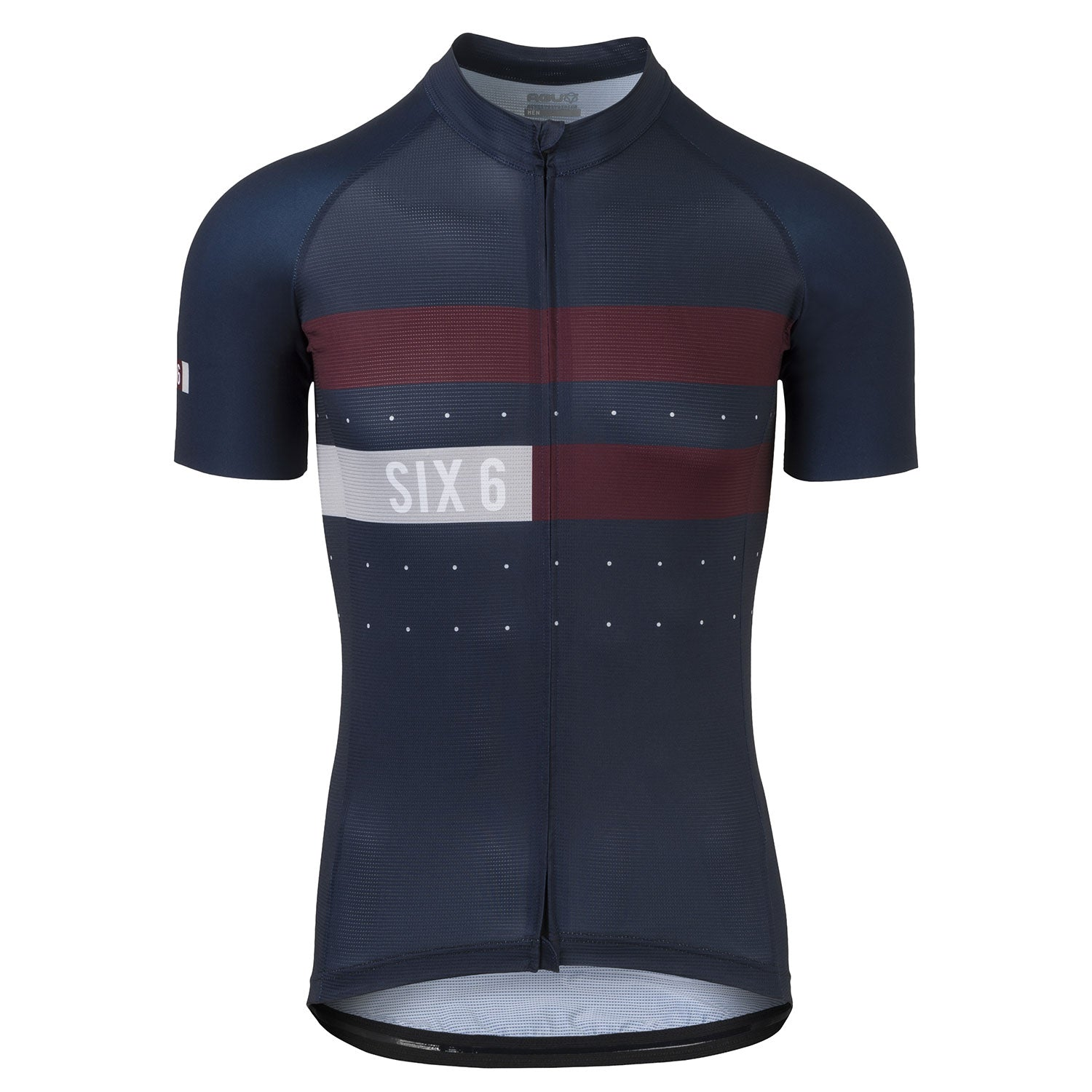 Six6 Deep Blue/Fig Classic Cycling Jersey