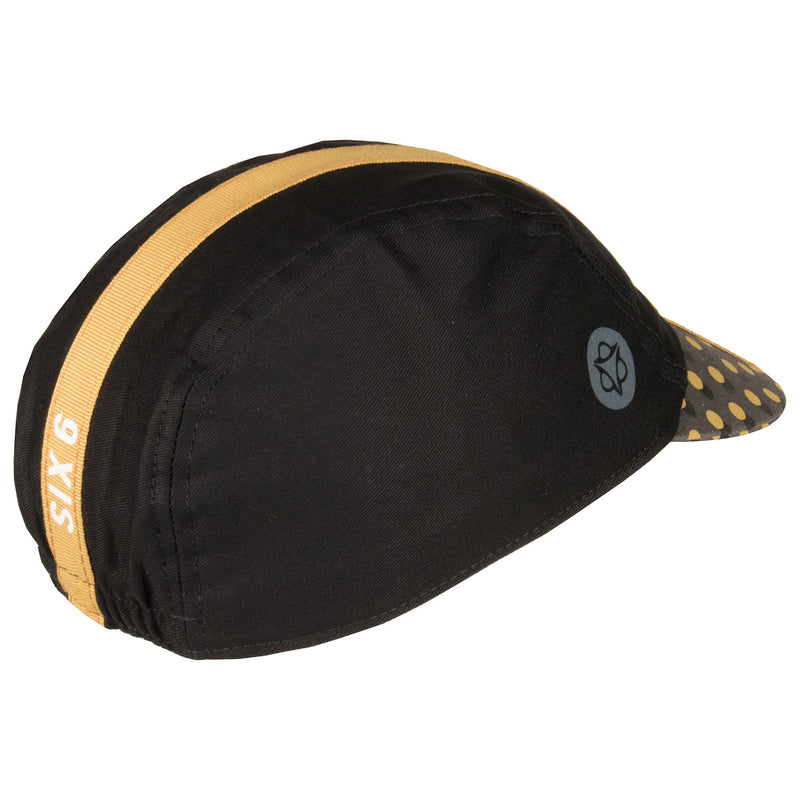 Six6 Black/Desert Brown Cycling Cap