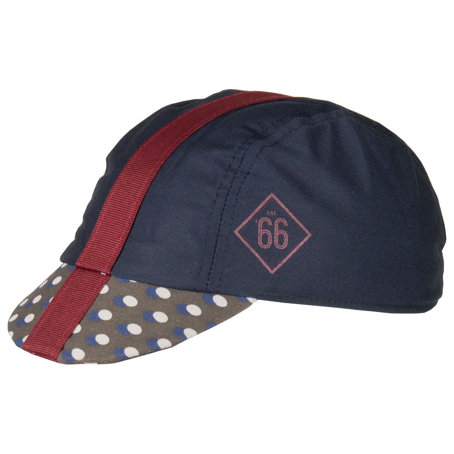 Six6 Deep Blue/Fig Cycling Cap