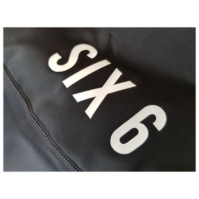 Six6 Iron Black/Grey Bib shorts