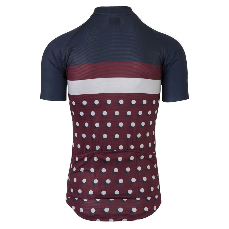 Six6 Deep Blue/Fig Cycling Jersey