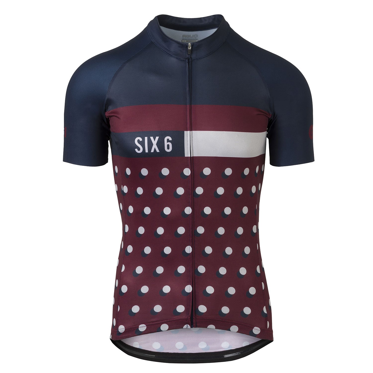 Six6 Dot Deep Blue/Fig Cycling Jersey