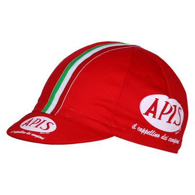 Red / Italian Cycling Cap