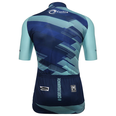 cadel evans great ocean road race cycling jersey from the back