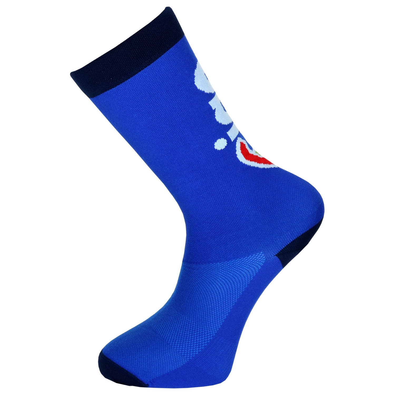 Cinelli Ciao Blue Cycling Socks
