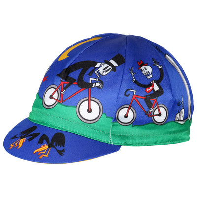 Cinelli Massimo Giacon Halloween Cycling Cap