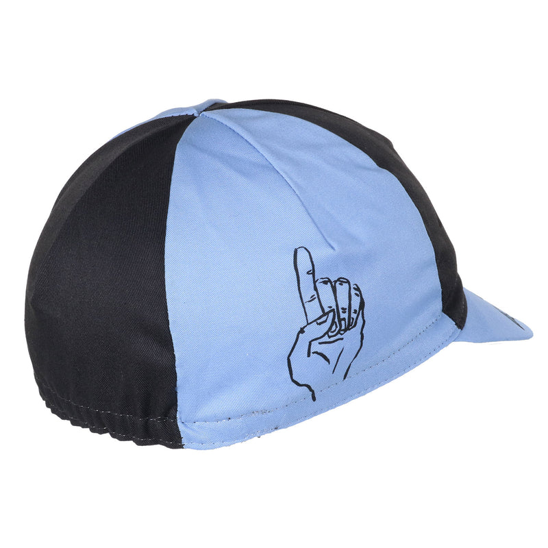 Cinelli Russ Pope Blue Cotton Cycling Cap