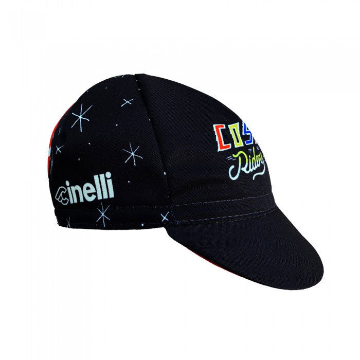 Cinelli Sergio Mora Cosmic Riders Black Cycling Cap