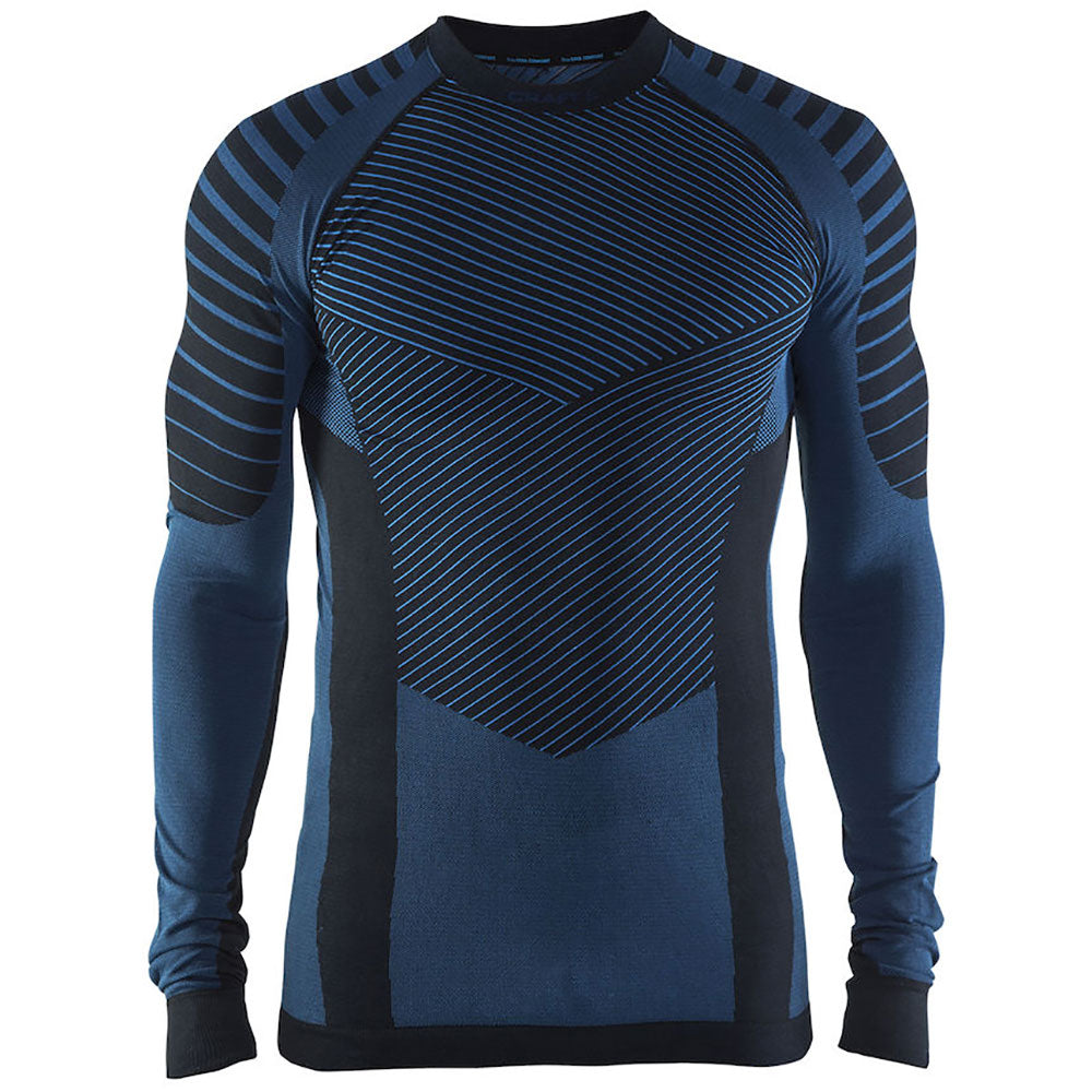 Craft Active Intensity 2.0 CN Men's Long Sleeve Cyan/Black Baselayer