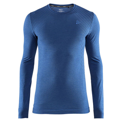 Craft Fuseknit LS Imperial Blue Baselayer