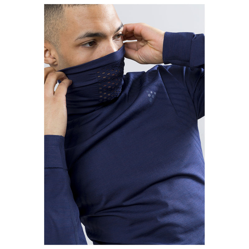 Craft Fuseknit Turtle Neck Maritime/Navy Baselayer
