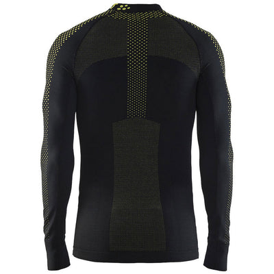 Craft Warm Intensity CN Men's Black/Yellow Baselayer