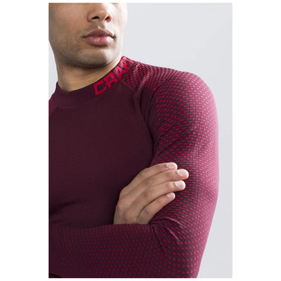 Craft Warm Intensity CN Men's Rio/Red Baselayer