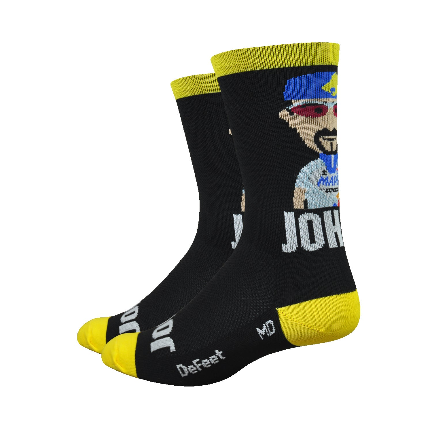 "DeFeet Aireator 6"" Rich Mitch Legends Johan Museeuw"