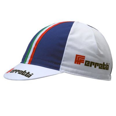 Ferretti Retro Cotton Cycling Cap