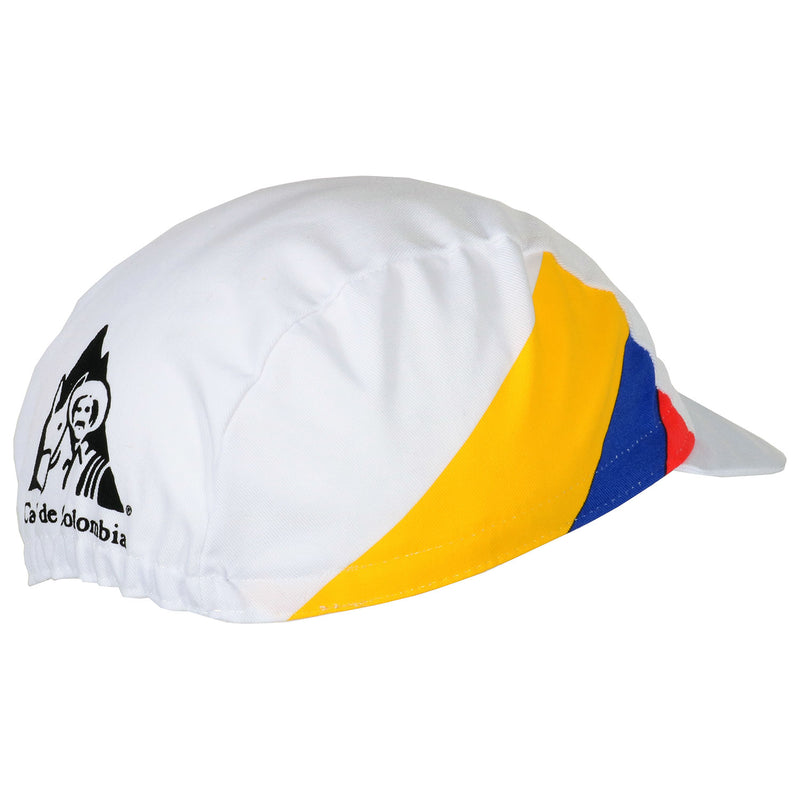 Cafe de Colombia Retro Cotton Cycling Cap