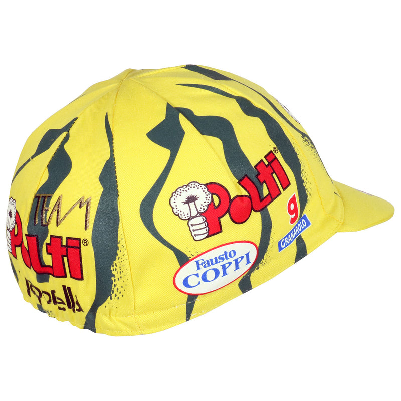 Team Polti Vaporetto Retro Cotton Cycling Cap