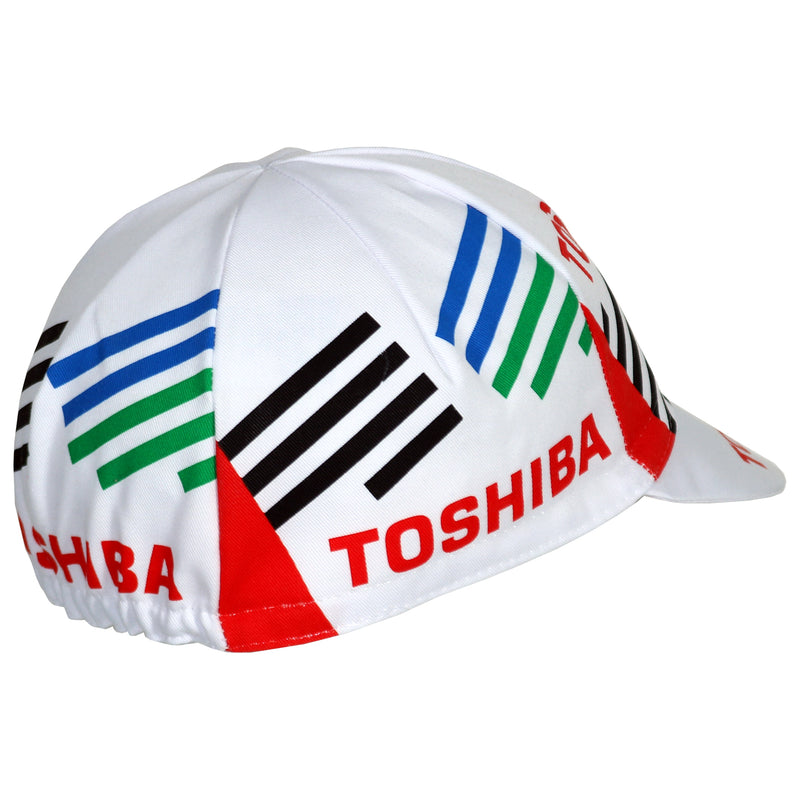 Toshiba Team Retro Cycling Cap
