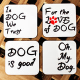 'Dog Almighty' Coaster Set