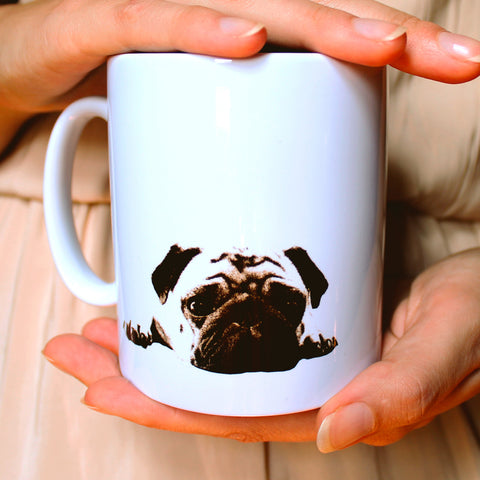 'This Little Puggy' Pug Mug