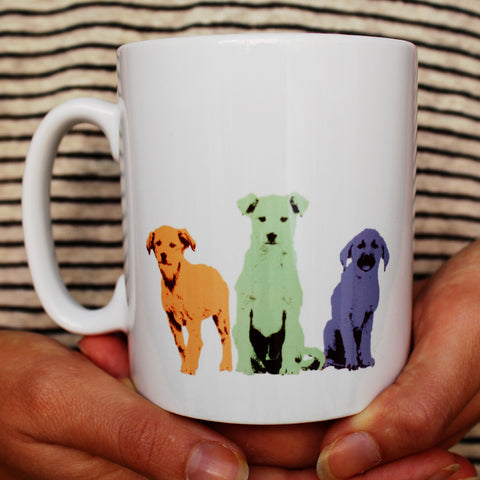 'Squad Goals' Puppy Mug