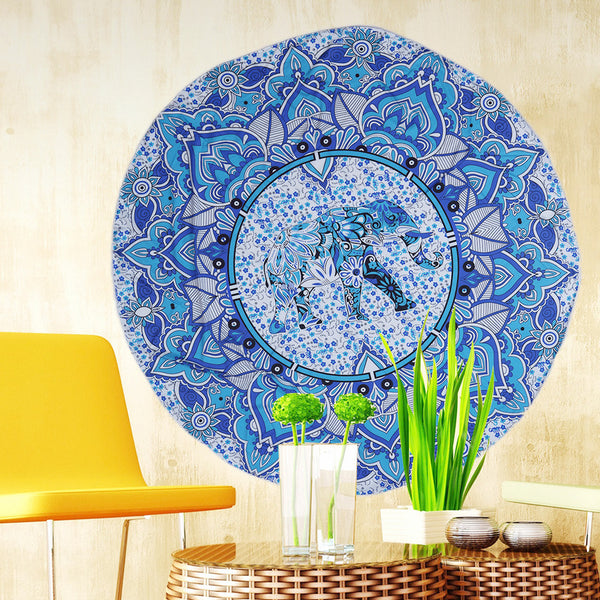 12Colors Large Round Beach Towel
