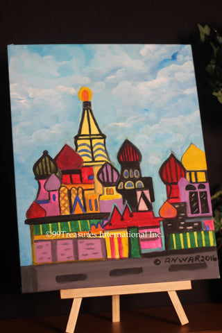 Colorful City of Peace (Anwar Age: 16)