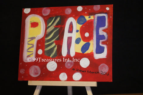 Abstract Peace by Jennah