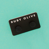 ROW1831ER-Everyday-Flat_stud_Earrings-black-On-Aqua-1200x1200.png