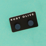 ROW1831ER-Everyday-Flat_stud_Earrings-navy-On-Aqua-1200x1200.png