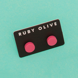 ROW1831ER-Everyday-Flat_stud_Earrings-pink-On-Aqua-1200x1200.png
