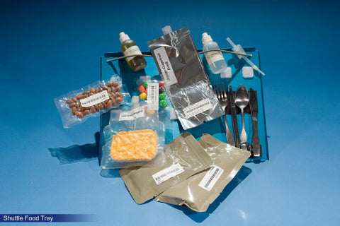 Shuttle space food tray