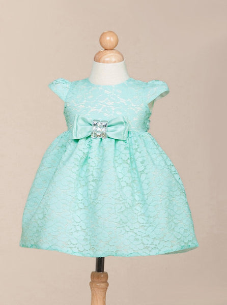 Turquoise Infant Party Dress