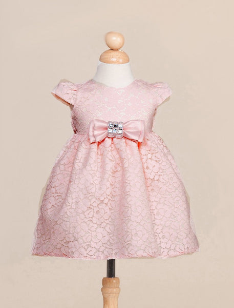 Blush Pink Infant Party Dress
