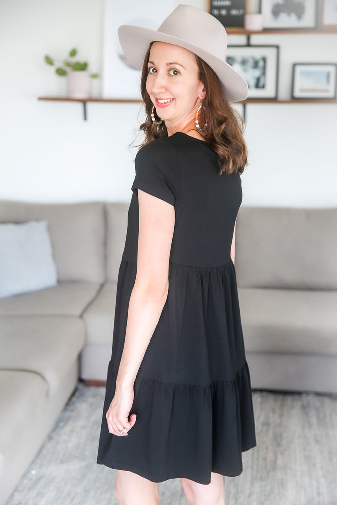 ARABELLA DRESS BLACK
