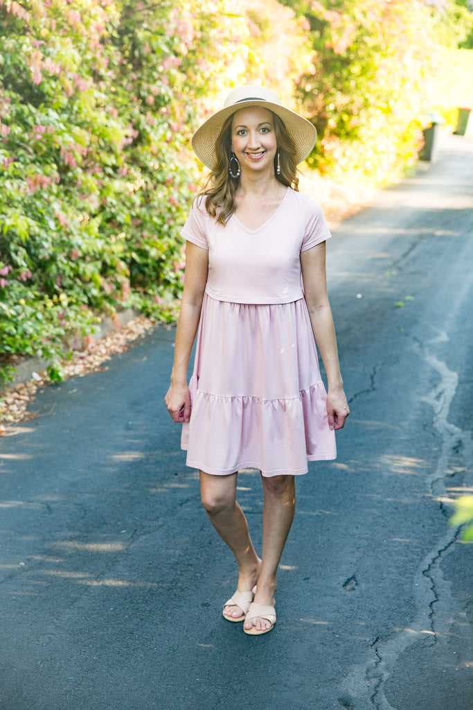 ARABELLA DRESS BLUSH