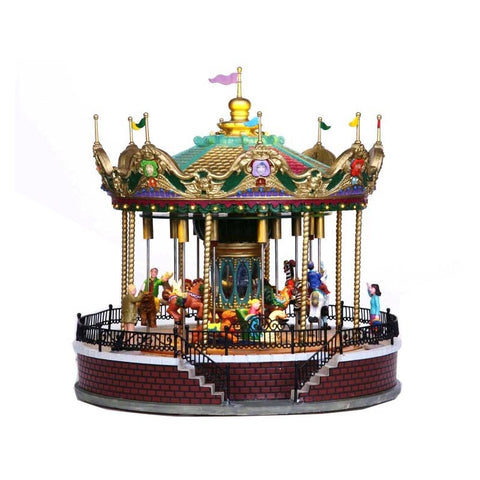 Lemax Sunshine Carousel - giostra in movimento