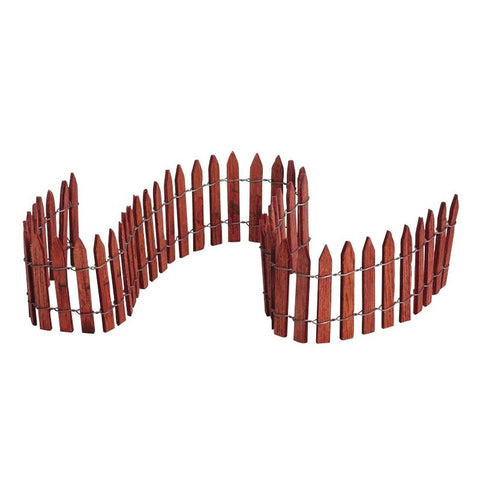 Wired Wooden Fence Lemax, steccato in legno