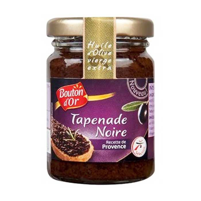 Bouton D'Or Black Tapenade noire/  Black Provence Spread - TheLittleMart.com