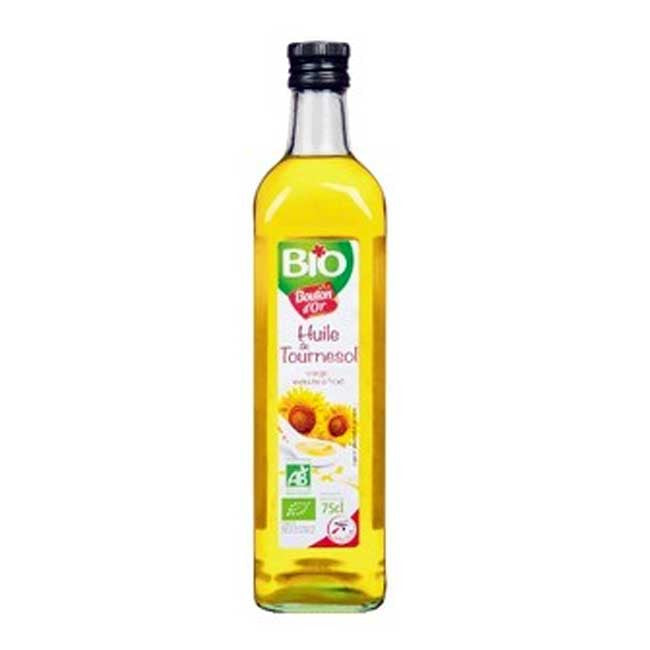 Bouton D'Or Organic Sunflower Oil