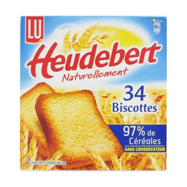 Biscottes /  French Rusks Heudebert - TheLittleMart