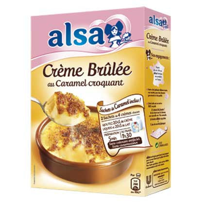 Alsa Preparation for Crème Brulee