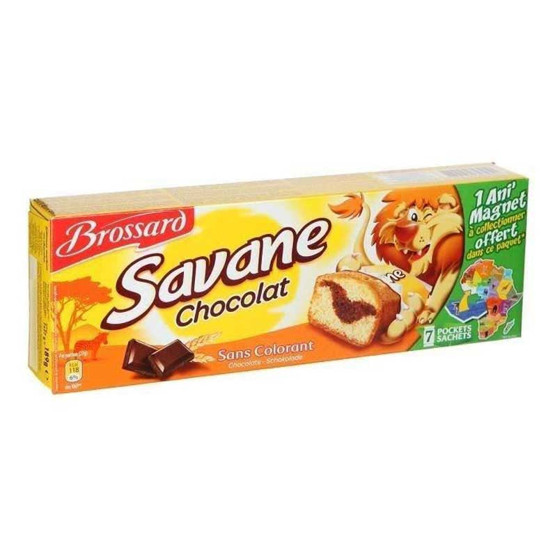 Brossard Savannah Pocket - Chocolate Flavour Sponge Cake
