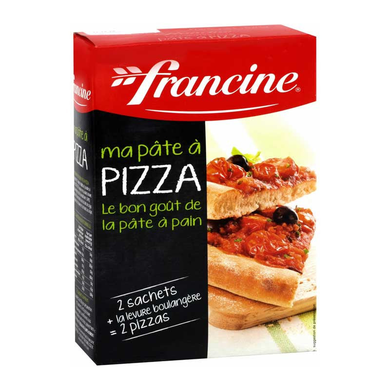 Francine Pizza preparation