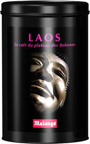 Laos Organic Fair Trade Ground Coffee - Malongo - TheLittleMart.com
