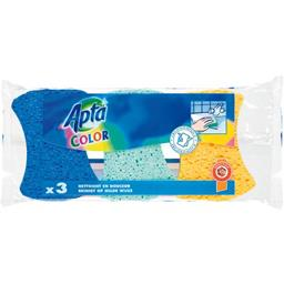 APTA 3 Colours Sponges - TheLittleMart.com